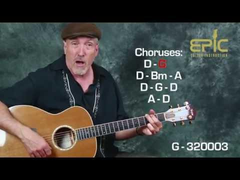 Learn classic country merle haggard mama tried easy beginner guitar ...