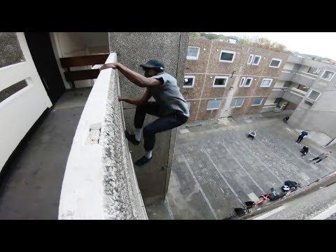 London parkour bike tour 🇬🇧
