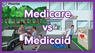Medicare vs. Medicaid | Mnemonic for USMLE