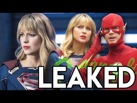 Crisis on Infinite Earths LEAKED Scenes - Flash and Supergirl & Lena EXPOSED to Kara!