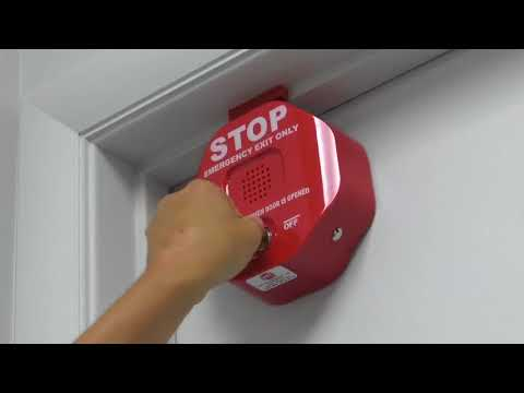 STI 6400 Exit Stopper in use