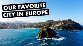 SAN SEBASTIÁN, SPAIN:  Our FAVORITE European City (Pinxtos, Beaches and Drinks!)  |  Ep. 39