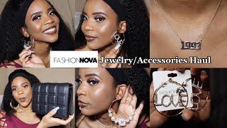 "Fashion Nova Jewelry & Handbag ""Accessories"" Haul+ Review 2021"