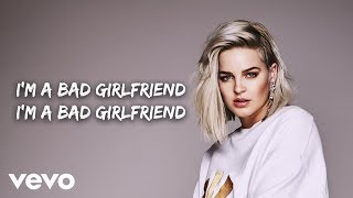 Anne Marie   Bad Girlfriend (Lyric Video)