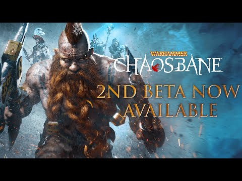 Warhammer: Chaosbane - Beta Launch Trailer #2 thumbnail