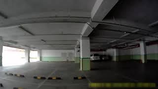 100$ X450 ParkingArean RUN Fun with FPV system