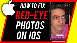 How to Fix Red Eye Photos on iPhone