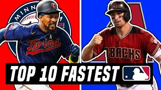 Top 10 FASTEST Players In The MLB 2020