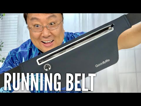 Slim Running Waist Pack Phone Holder Belt by Goodlylife Review