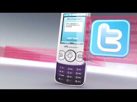Youtube Video Sony Ericsson Spiro W100i in stealth black