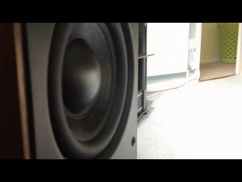qa 2070s subwoofer first test