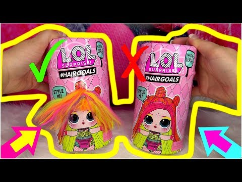 Download Fake Vs Real Lol Surprise Dolls With Real Hair L O L Video
