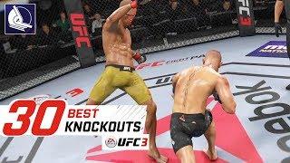 EA Sports UFC 3 - Top 30 Best Knockouts