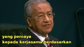 ucapan pbb tun mahathir sarikata bahasa malaysia