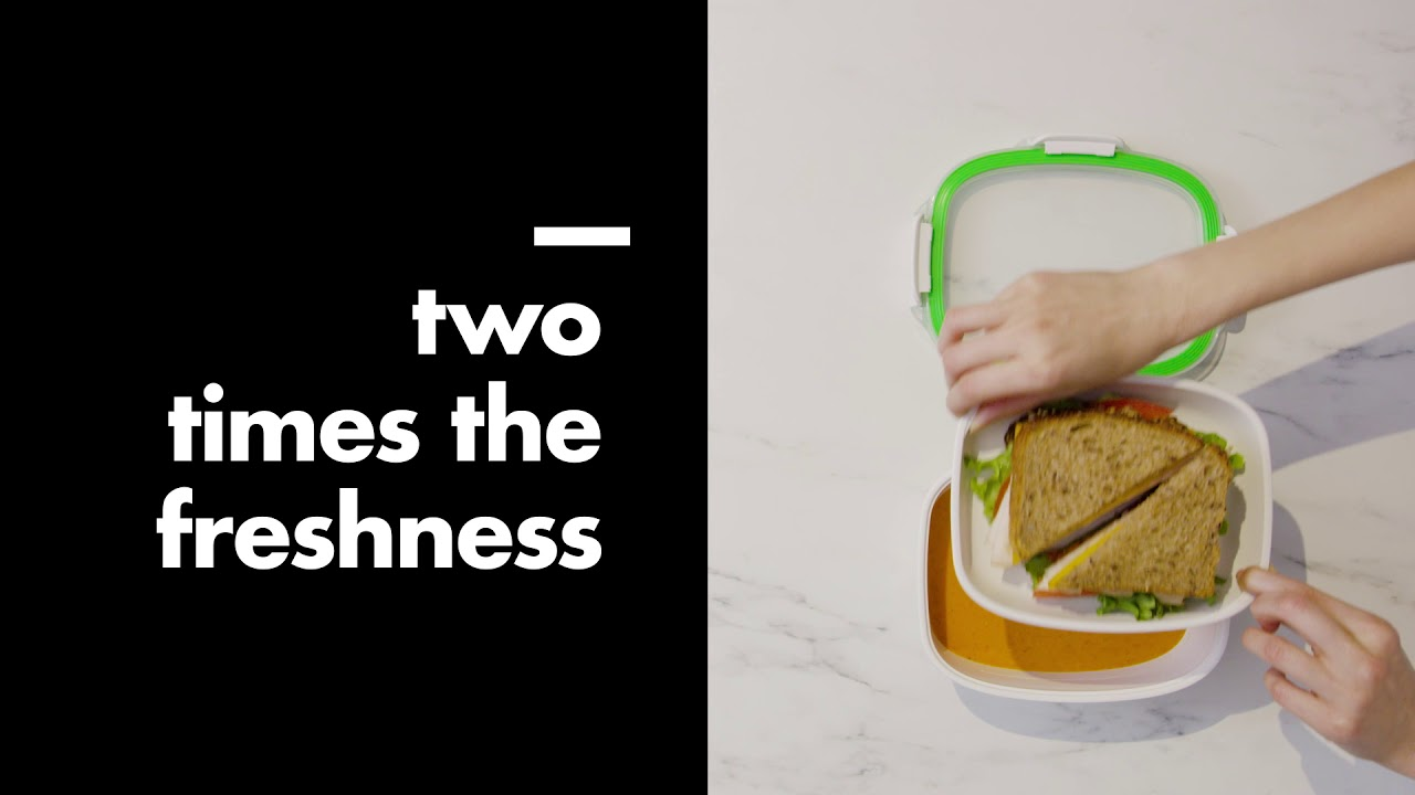 Video - Oxo Lunchbox Good Grips On-The-Go