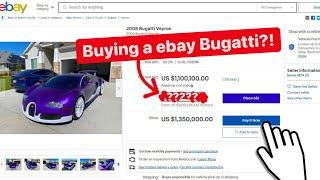 BUYING STRADMAN'S EBAY BUGATTI VEYRON FOR $1,***,***.** MILLION?!