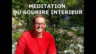 MEDITATION GUIDEE DU SOURIRE INTERIEUR