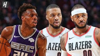 Sacramento Kings vs Portland Trail Blazers - Full Game Highlights   December 4   2019-20 NBA Season