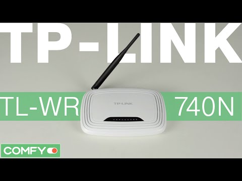 Фото - Маршрутизатор Ethernet TP-LINK TL-WR740N