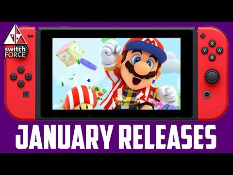 All Nintendo Switch Games January 2018 - Release Dates + What To Buy