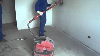 Lixadeira 2300F - Vídeo de exemplo da Lixadeira 2300F
