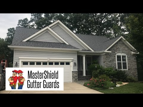 For this job in the Heritage Hunt community of Gainesville, VA, we replaced the customer's gutters and installed our MasterShield panels around the entire home. This is a brief overview of the process.