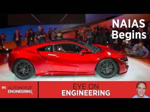 SAE Eye on Engineering: NAIAS Begins