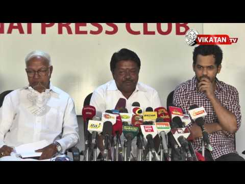 Jallikattu Movement Press Meet | hip hop tamizha,Siva senathipathi,Rajasekar