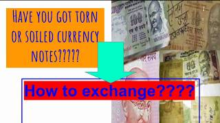 How to exchange soiled notes | How to exchange torn or mutilated notes | Mr Banker