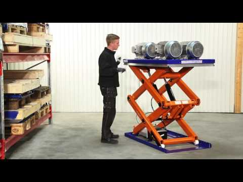 Scissor Lift Table - TLD 2000
