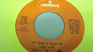 "Faron Young ""The Wrong In Loving You"""