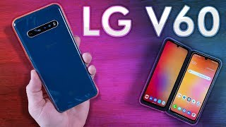 LG V60 ThinQ 5G Dual Screen Impressions & Camera Test!