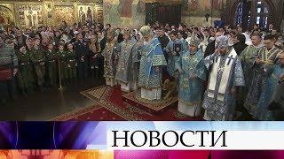 Православные верующие отмечают один из главных церковных праздников - Сретение.