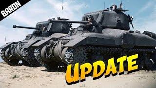 Let's Talk...November, Big Moves - War Thunder Canadian Tank Gameplay