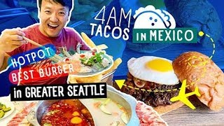 4am Tacos in Mexico, Hotpot & BEST Hawaiian Burger