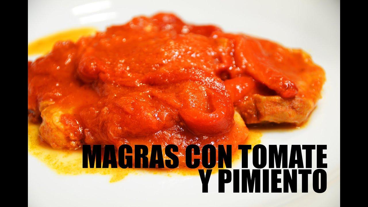 MAGRAS CON TOMATE. GRABADO CON UNA GO PRO