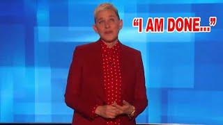 Ellen DeGeneres Announces Her Retirement...