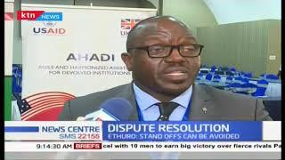 County assemblies urged to seek alternative dispute resolution mechanisms