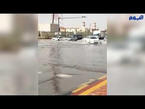 41 بلاغاً جراء هطول الأمطار على الشرقية