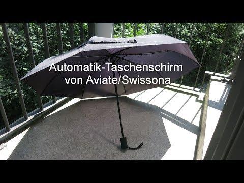 389 - automatischer Regenschirm von Aviate/Swissona
