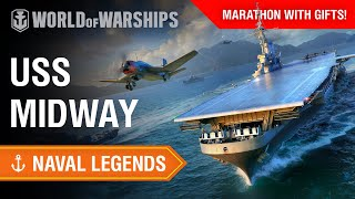 Naval Legends: USS Midway. The first U.S. aircraft carrier too big to transit the Panama Canal