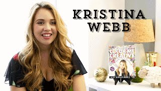 Epic Author Facts: Kristina Webb | Color Me Creative