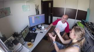 František Pavlоušek & Daria. Science and practice in paragliding. Lecture 1