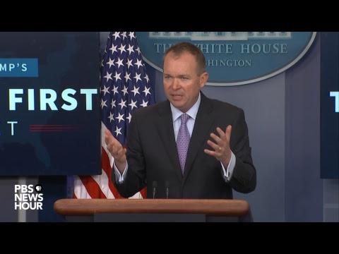 WATCH LIVE: Trump Budget Director Mick Mulvaney speaks on FY18 budget