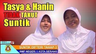 Suntik Difteri Siswa Siswi SMP Negeri 1 Kota Serang 2018