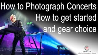 New Video: How to Photograph Concerts