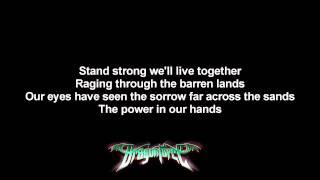 DragonForce - Cry For Eternity | Lyrics on screen | HD