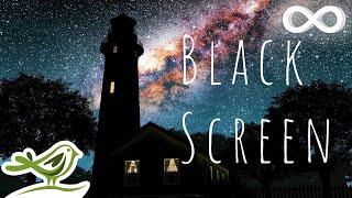 Starry Night • 12 Hours of Ambient Sleep Music | Black Screen