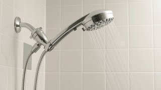 How to Install - Hand Held Shower Head with Separate Pivot Ball