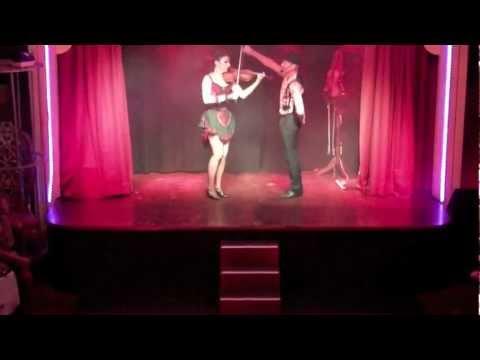 Strings On Fire - Liqueur Flambe Show - Tango, Fire, Heels!
